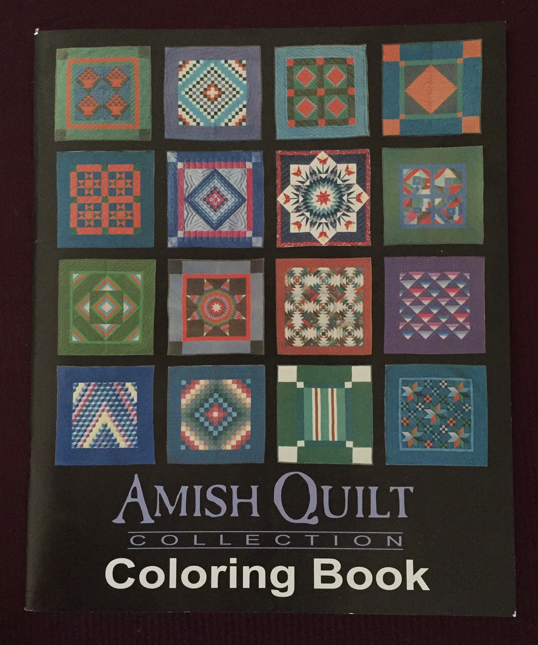 Amish Quilt Coloring Book